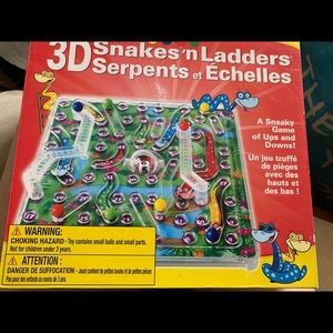 New 3D Snakes and Ladders game